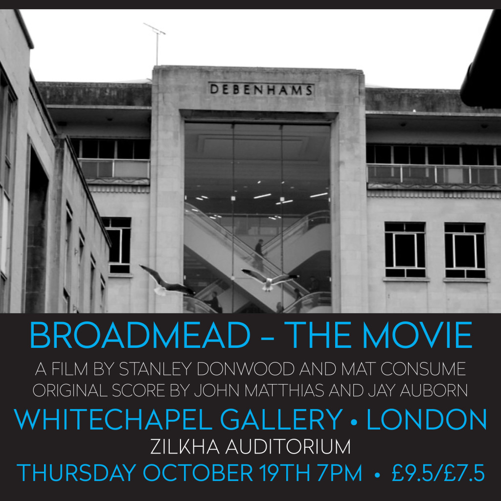 whitechapel BROADMEAD POSTER
